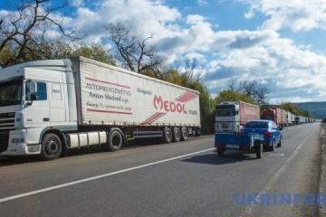 Güterumschlag um fast 19 Prozent gesunken