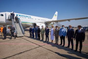 Selenskyj besucht Region Mykolajiw
