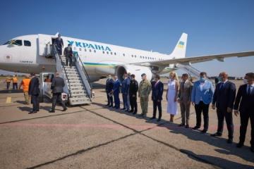 Volodymyr Zelensky s'est rendu dans la région de Mykolaiv