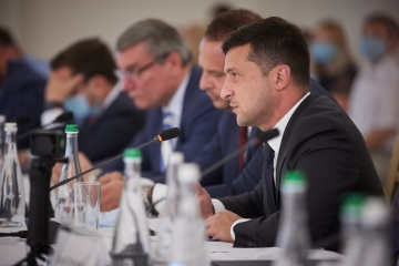 Zelensky: About 200 km of roads to be built in Mykolaiv region this year