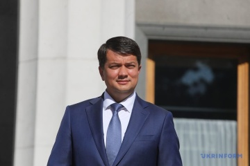 Razumkov espera que las negociaciones en el formato Normandía salgan del estancamiento el próximo año