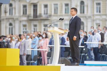 Zelensky llama a los ucranianos a la unidad y la cohesión