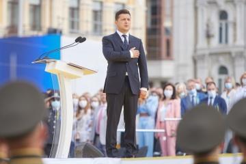 8月24日は独立記念日 ゼレンシキー大統領の演説