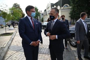 クレーバ外相、クリミア脱占領プラットフォームへドイツを招待