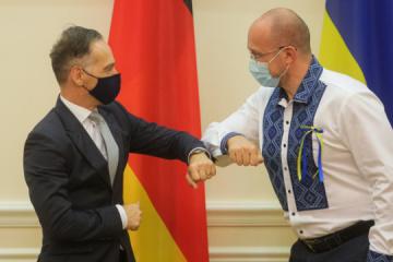 Schmygal und Maas erörtern Wirtschaftsforum in Berlin