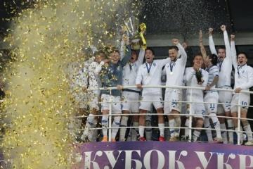Dynamo Kyiv wins Ukrainian Super Cup