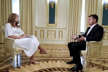 Le président ukrainien croit au rétablissement de la paix dans le Donbass dès cette année