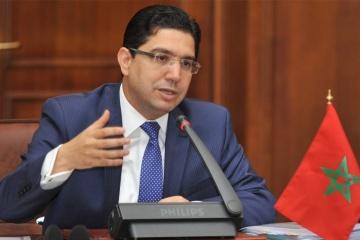 Le ministre des Affaires étrangères du Maroc reçoit la nouvelle ambassadrice d'Ukraine