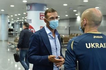 Selección nacional de fútbol de Ucrania inicia preparativos para la Liga de las Naciones de la UEFA