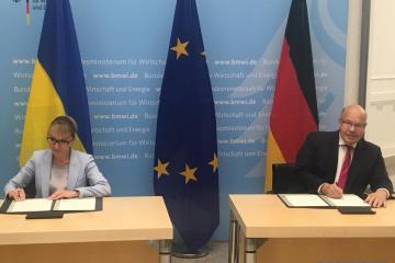 L'Ukraine et l'Allemagne signent une déclaration sur le partenariat énergétique