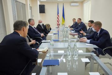 ゼレンシキー大統領、ビーガン米国務副長官と会談
