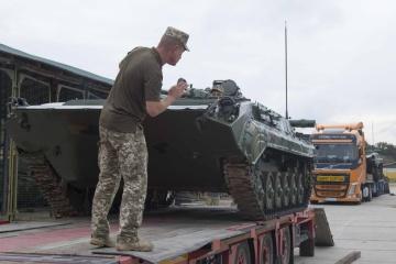 """Ukrainische Soldaten nehmen an Manöver """"Combined Resolve XIV"""" in Deutschland teil"""