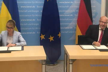 Ukraine und Deutschland signieren gemeinsame Absichtserklärung über Aufbau einer Energiepartnerschaft
