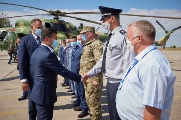 Zelensky llega a la región de Kirovogrado