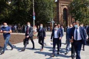 Volodymyr Zelensky entame une visite de travail dans la région de Kyrovohrad