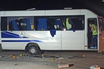 Fusillade sur l'autoroute Kharkiv-Kyiv : la police a arrêté des suspects
