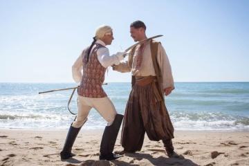 オデーサ映画スタジオ、歴史映画『ハジベイ要塞』の予告編を公開
