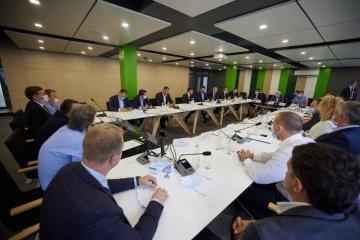 Zelensky se reúne con representantes de negocio de la región de Cherkasy