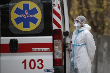 Na Ukrainie zarejestrowano 8687 nowych przypadków koronawirusa
