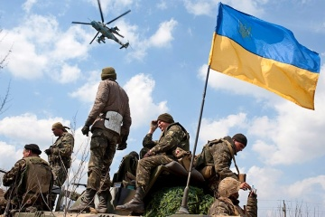 Invaders violate ceasefire in Donbas seven times, Ukrainian troops fire back