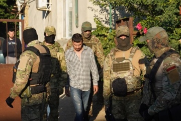 Four Crimean Tatars detained in Russian-occupied Crimea