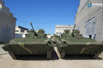 Zhytomyr Armored Plant hands over dozens of repaired armored vehicles to Ukrainian army