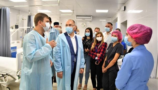 Степанов проінспектував лікарні Рівненщини