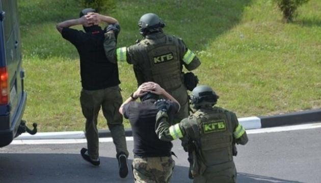 Затриманих у Білорусі