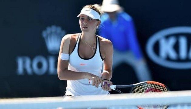 Марта Костюк поступилася у півфіналі кваліфікації тенісного турніру в Палермо