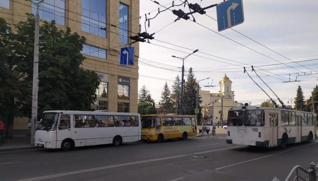 В Луцке не вышли в рейс 70 маршруток, транспорт переполнен - СМИ