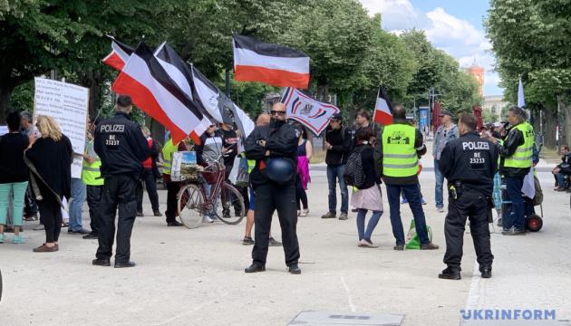 Конституційний суд ФРН заборонив противникам карантину влаштувати табір у Берліні