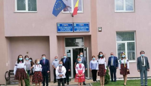 Представники посольства і Союзу українців Румунії відвідали заклади з українською в Марамуреші