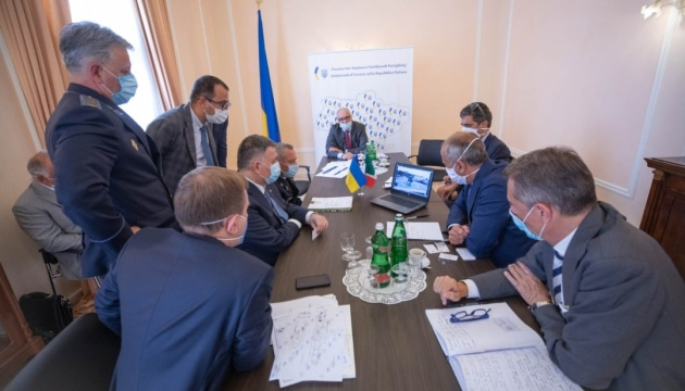Ukraine wants to build rescue boats jointly with Italy