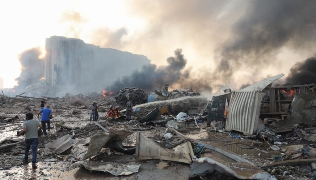В МЗС поки немає інформації щодо постраждалих українців під час вибуху в Бейруті