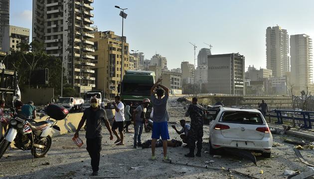 У результаті вибуху в Лівані загинули щонайменше сотня людей