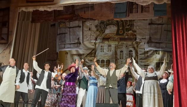 В Бердичевском театре показали фрагмент премьерной комедии по мотивам Шолом-Алейхема