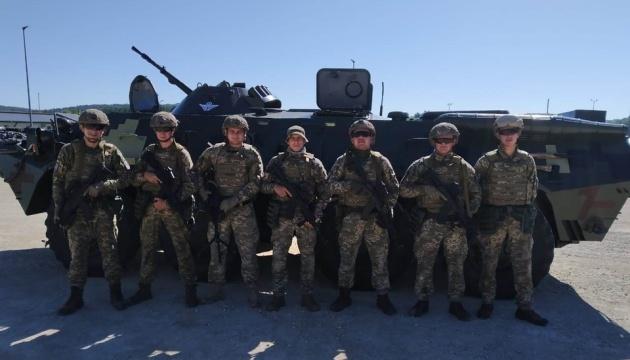 Украинские десантники поехали на Saber Junction в Германию