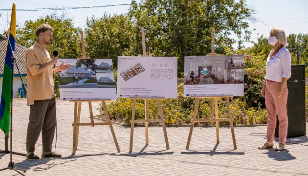 «U-LEAD з Європою» будує у Нових Санжарах ЦНАП за шведським проєктом