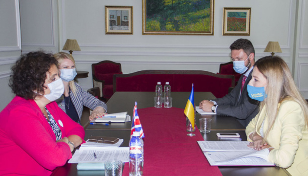 Джапарова обговорила з послом Британії створення