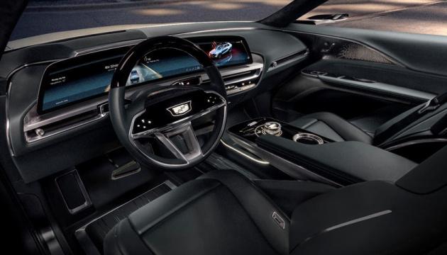 Cadillac представив електрокар — майже 500 кілометрів без підзарядки
