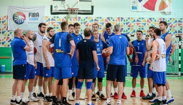 Мужская сборная Украины по баскетболу провела открытую тренировку