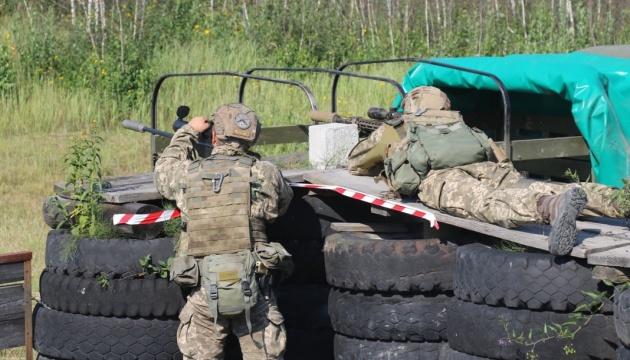 Десантно-штурмові війська визначили найкращу снайперську пару