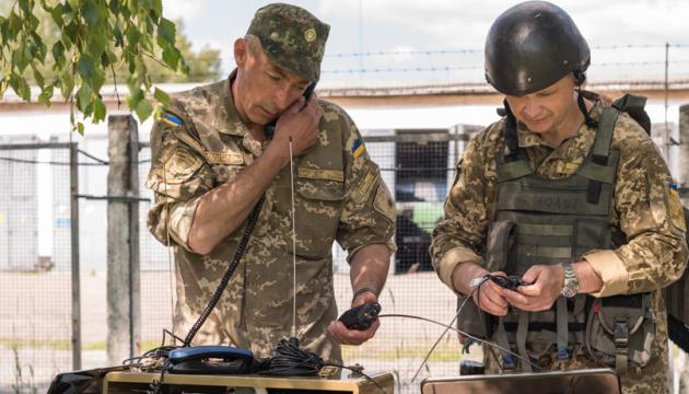 El presidente Zelensky felicita a los señaleros militares por su fiesta profesional