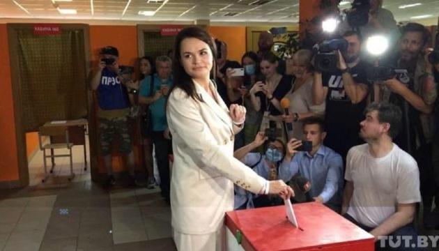 Тихановська заявила, що готова оскаржувати результати виборів
