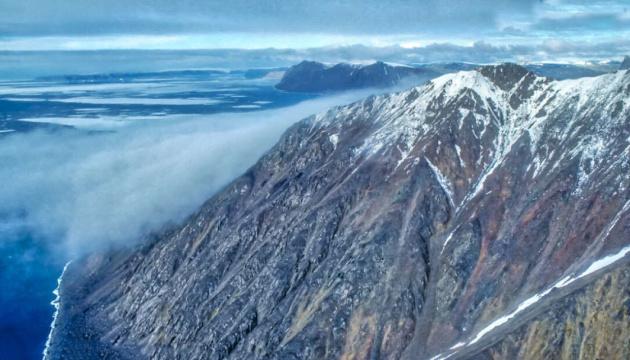 NASA показало знімки зниклих льодовиків Арктики