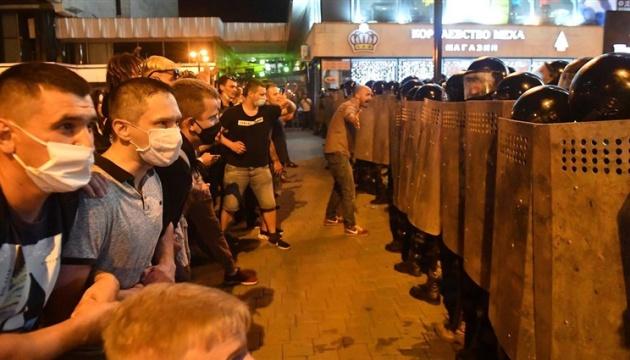 Під час протестів у Білорусі затримали 9 українців – МЗС