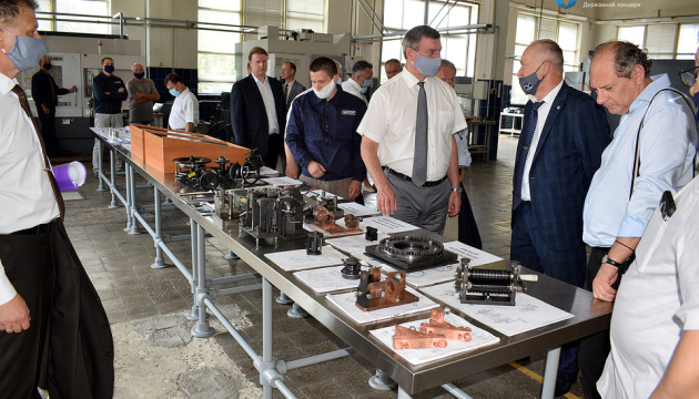 Укроборонпром презентував у Луцьку галузевий холдинг авіаремонтів