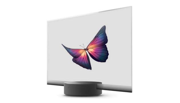 Xiaomi представила телевізор із прозорим дисплеєм