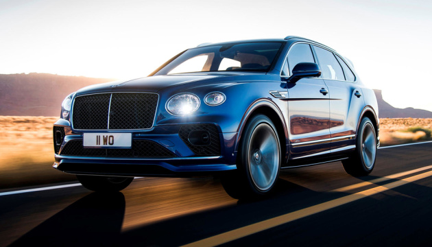 Bentley представил самый быстрый кроссовер в мире