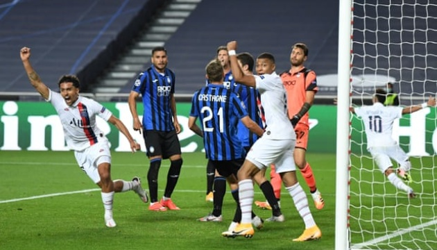 Ліга чемпіонів: «ПСЖ» обіграв «Аталанту» і вийшов у півфінал